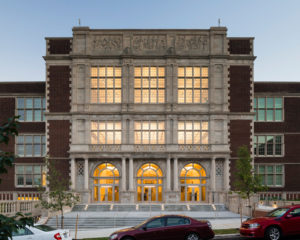 Francis L. Cardozo Education Campus Exterior