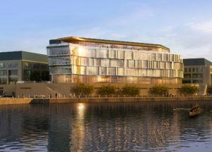 Naval Academy rendering