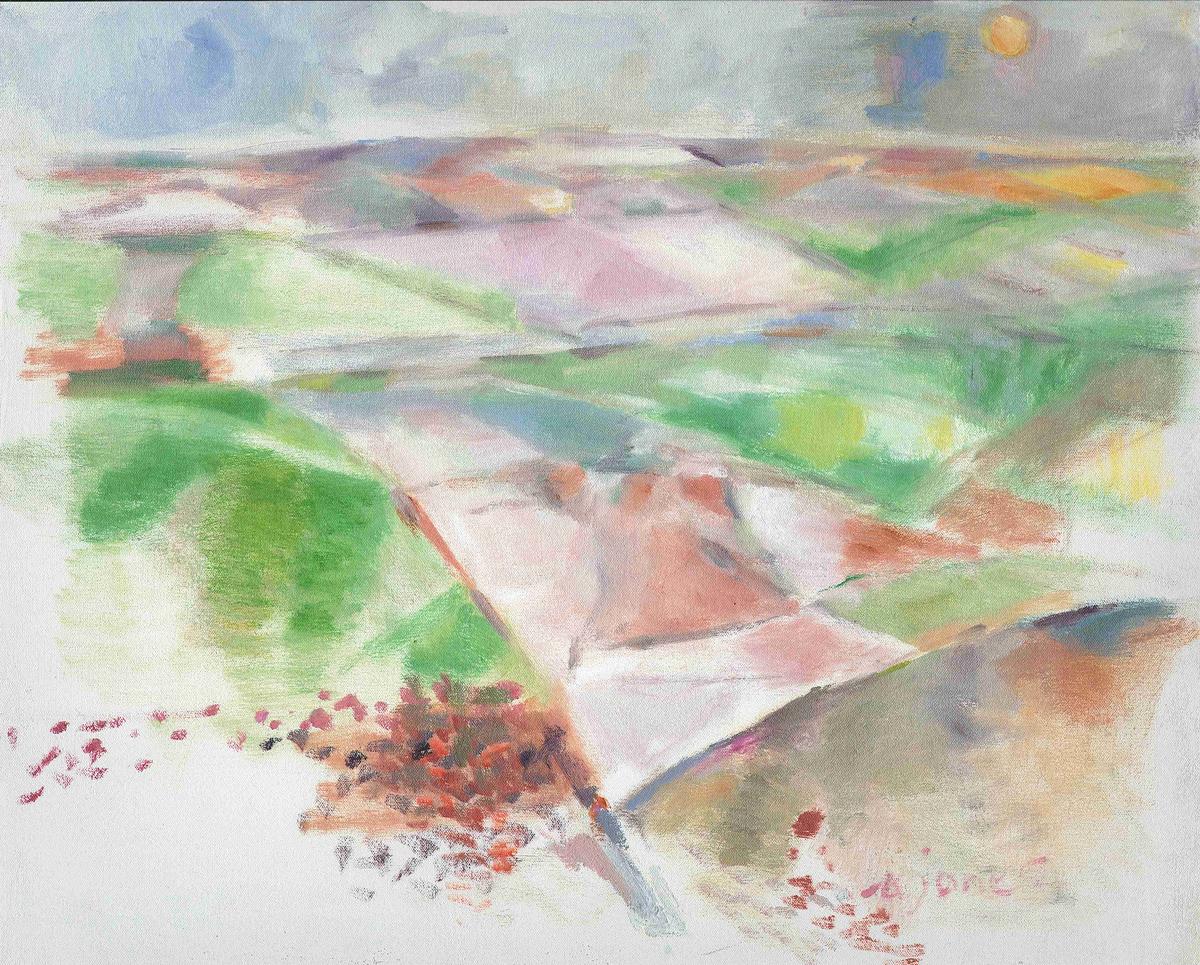 Anne Jones painting