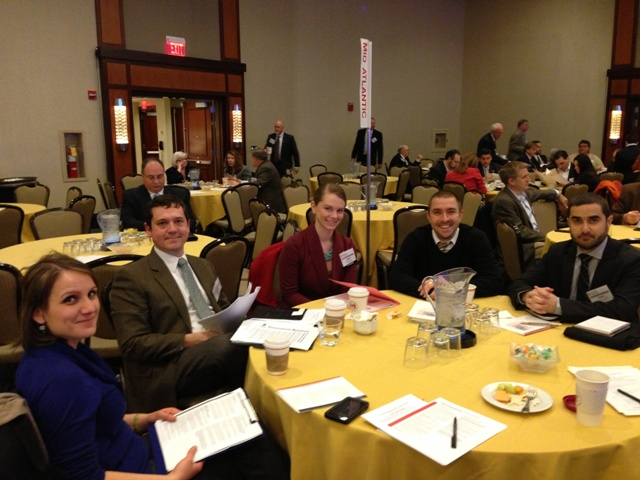 Laura Wheaton, AIA, pictured third from left, with other CivicLAB participants at AIA National Grassroots Legislative and Leadership conference.