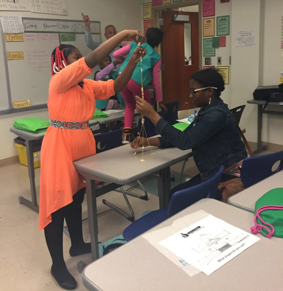 Girl Scouts Women in STEAM event