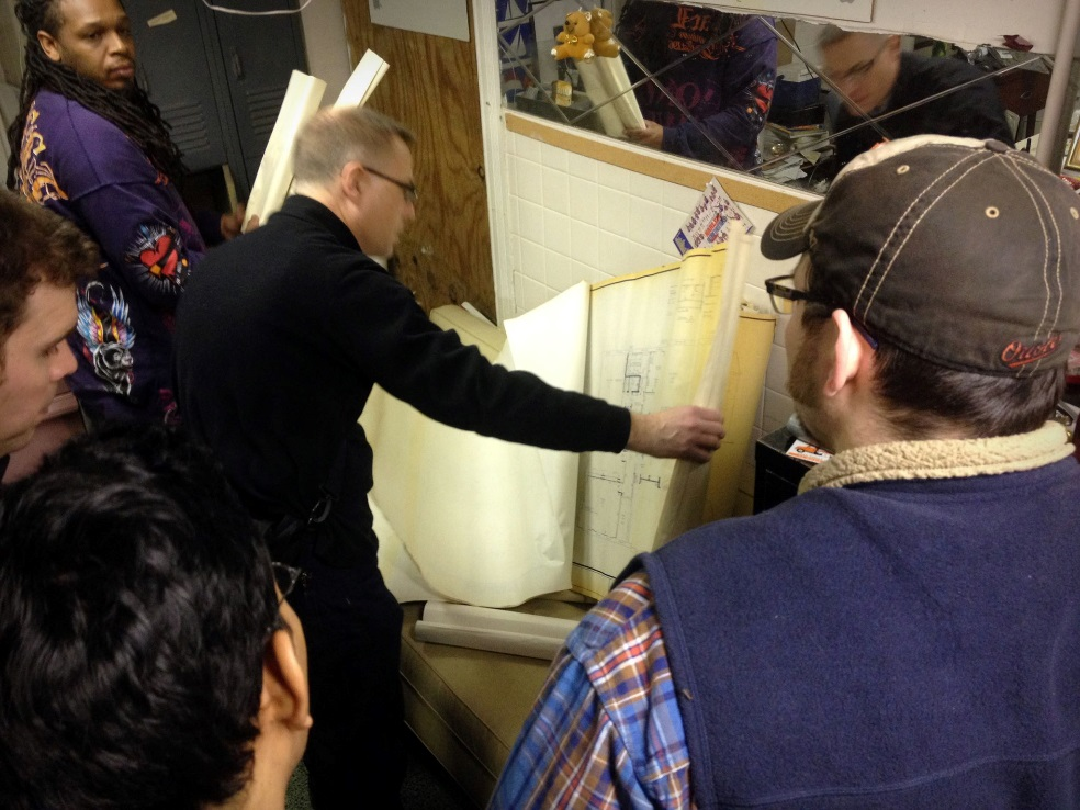 Volunteering with the Neighborhood Design Center