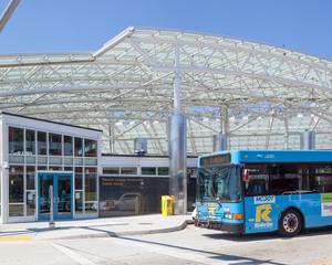 transit center exterior