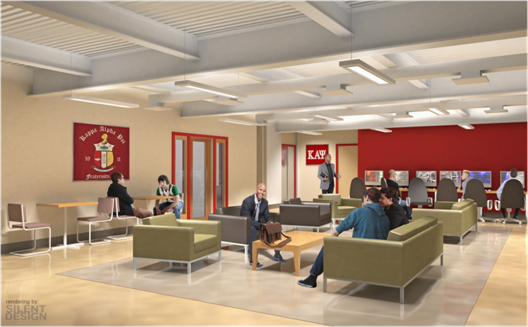 Kappa Alpha Psi Foundation Youth & Community Center- a renovation of an existing space for mentoring and computer access. Image courtesy Harris-Kupfer Architects (HKA).