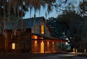 Meeting barn exterior