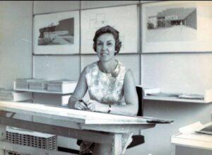 Turkish architect Nezahat Sügüder Arıkoğlu worked for Whiting Turner in the 1960s.
